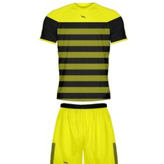 00789d293 Yellow Soccer Uniforms from Lightning Wear. Customize Soccer Uniform for  adult and youth in any color or style.