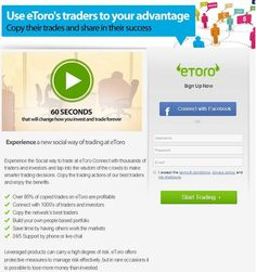 Fancy being part of the profitable trading world, but have no idea how to do it? Then eToro is the perfect trading platform for you!   This is due to their 'CopyTrader' feature, which allows you to allocate some of your funds to automatically copy somone else's trades. So find a successful, reliable trader, click copy, then sit back and let the professionals do all the hard work for you.  It's basically a bank account with the potential for amazing interest. #MakeMoney #Trading #Money #Etoro