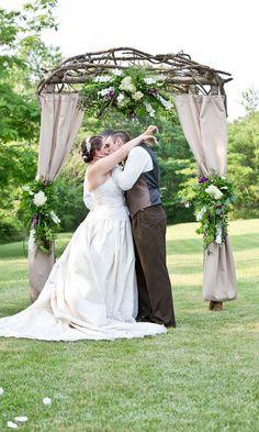 Pergolas For Sale At Costco Diy Wedding Archway, Wedding Arbor Decorations, Wedding Arbor Rustic, Wedding Arbors, Wedding Trellis, Cute Wedding Ideas, Wedding Blog, Wedding Stuff, Photos
