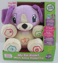 NEW Leap Frog, my pal violet $14.99