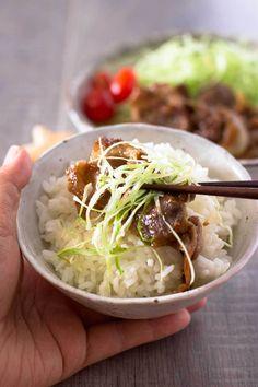 Shogayaki (Japanese Gingered Pork)