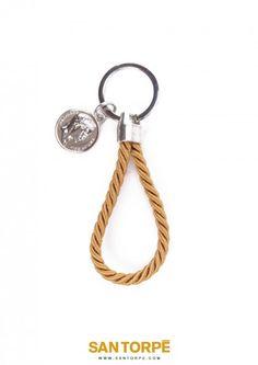 TOPAZ GOLD KEY RING