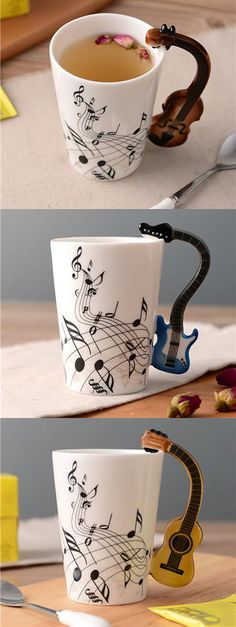 Musical Coffee/Tea Mugs! Makes for a great gift