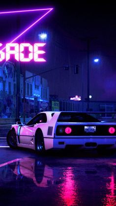 Retrowave Cyberpunk Car available for your desktop, tablet, iphone, and android device, hdpictures is automatic to adjust with your device resolution. Jdm Wallpaper, Retro Wallpaper, Scenery Wallpaper, New Retro Wave, Retro Waves, New Wave, Neon Car, Best Jdm Cars, Vaporwave Wallpaper