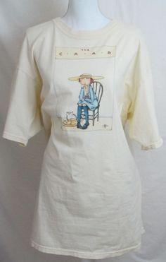 Womens XXL T Shirt #MaryEngelbreit Yellow Crab 1980 #ebay #TheMountain #GraphicTee