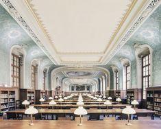 Bibliothèque interuniversitaire de la Sorbonne (Paris, France)  Photographer Franck Bohbot  New Magnificent Photos of Beautiful Libraries around the World - My Modern Met