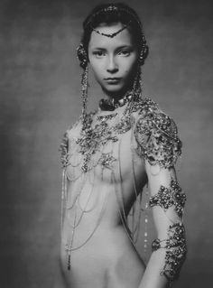 """The Poetic Spirit"" Tiiu Kuik by Paolo Roversi for Vogue Italia September 2003"