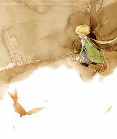 Kim Min Ji's enchanting illustrations of The Little Prince   The Little Prince