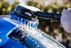 Så enkelt vasker du bilen, huset og terrassen med høytrykkspyler - Byggmakker.no Barware, Patio, Tumbler