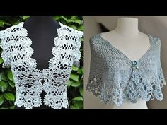 Boleros - Tejidos a Crochet ( Diseños ) - YouTube