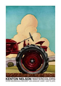 Kenton Nelson posters for sale through Morton Court Publishing. Grant Wood, Diego Rivera, The New Yorker, American Scene Painting, Tribute, Edward Hopper, Paintings I Love, Exhibition Poster, Henri Matisse