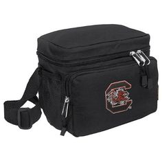 South Carolina Gamecocks Lunch Box Cooler Bag Insulated University of South Carolina - Top Quality Unique Lunchbox or Sophisticated Black Travel Bag - OFFICIAL NCAA COLLEGE LOGO Merchandise by Broad Bay. Save 33 Off!. $19.99. Our tough deluxe South Carolina Gamecocks lunch box cooler bag is just the right size for lunch or travel. This well-insulated official college logo bag contains a roomy main compartment and a zippered front pocket. Top quality construction with additional convenie...