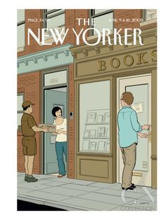 Adrian Tomine The New Yorker cover june 9 2008