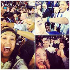 We live in a generation where an image is worth a thousand words. Well, luckily we have students that have captured photos worth more than that. We could go on and on about the Barack Obama visit, but first, let us take a selfie. #POTUSatGT