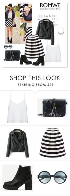 """""""Romwe 5/VI"""" by nermina-okanovic ❤ liked on Polyvore featuring PAM, Alice + Olivia, WithChic, Warehouse, Tom Ford, Oscar de la Renta and romwe"""