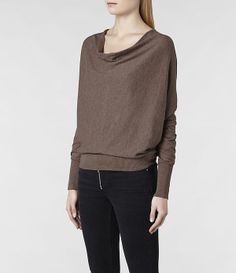 Marled Cowl Neck Sweater from THELIMITED.com #ItsTime #TheLimited ...