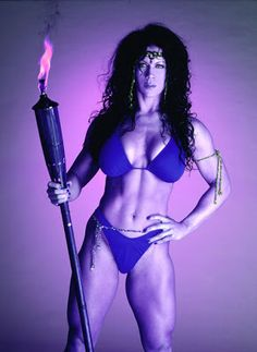 Beautiful Women of Wrestling: Chyna - WWE Divas