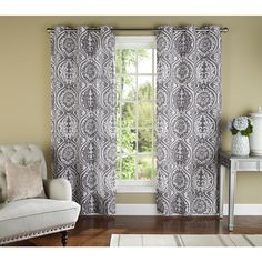 York 84-inch Curtain Panel Pair - Overstock™ Shopping - Great Deals on Curtains