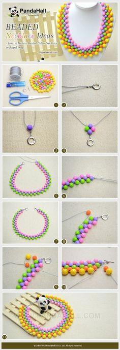 Ideas que collar de perlas - Cómo hacer un moldeado de ...   Joyería artesanal Tut por querer
