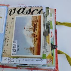 idea for travel memory book