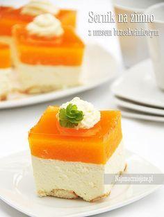 Polish Desserts, Polish Recipes, Polish Food, Sweet Desserts, Delicious Desserts, Ukrainian Desserts, Cake Recipes, Dessert Recipes, Summer Cakes