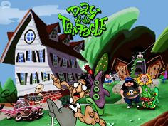 Day of the Tentacle: ¿qué fue de Bernard? All Video Games, Classic Video Games, Now Games, Best Games, Tim Burton, Day Of The Tentacle, Classic Rpg, Lucas Arts, Monkey Island