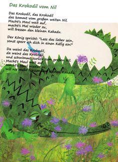 Das Krokodil vom Nil #kindergarten #erzieher #erzieherin #gedicht #reim #kita