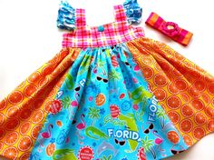 Lola's Picture Postcard dress by Pink MOMI