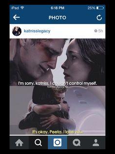 Mockingjay part 2. Katniss and Peeta