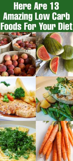 Here Are 13 Amazing Low Carb Foods For Your Diet:- One should try to keep a balance between the kinds of food they consume. Listed below are suggestions on some low carb foods low on ... #lowcarbdiet