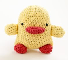 Free Crochet Pattern: Toy Duck