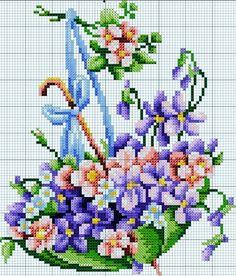 Ne e nin g zdeleri Easy Cross Stitch Patterns, Simple Cross Stitch, Cross Stitch Flowers, Pixel Crochet, Embroidery Stitches, Blanket, Knitting, Crafts, Instagram