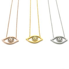 Find More Pendant Necklaces Information about Punk Hot Sale Evil Eye Gold Necklaces for Women's Accessory Stainless Steel Choker Necklaces & Pendants with Rhinestones Jewelry,High Quality necklace strass,China pendant necklace heart Suppliers, Cheap pendant snake from MSX Fashion Jewelry on Aliexpress.com