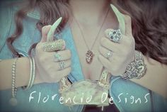 Hand Crafted Wearable Sculptures and Custom Made Jewelry By Ineabell Florencio For inquiries go to www.florenciodesigns.com
