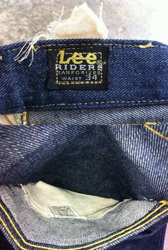 Vintage LEE RIDERS One Wash True Vintage good condition Measurements: Waist 34 - 35 inseam Vintage Jeans, Vintage Outfits, Vintage Fashion, Lee Jeans, Denim Jeans, Jeans Brands, Jeans Style, Cloths, Etsy