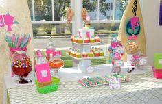 Nautical/Beach Theme Birthday Party Ideas | Photo 1 of 15 | Catch My Party