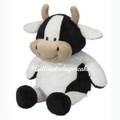 Eb cow, personalized plush, baby gifts, Custom embroider stuffed animal, farm animals  #munire #pinparty #MadeintheUSA