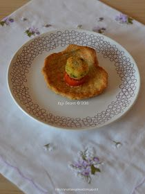Any secret...: Capesante in pasta brisèe con polpette di baccalà