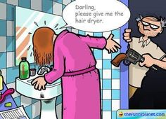Pass Me The Hair Dryer