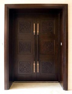 Trendy Wooden Stairs Rustic Wood Doors - Lilly is Love Home Door Design, Door Gate Design, Bedroom Door Design, Door Design Interior, Wooden Front Door Design, Double Door Design, Custom Wood Doors, Wooden Doors, Wooden Stairs