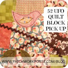 Bag Pattern {52 Quilt Block Pick Up}
