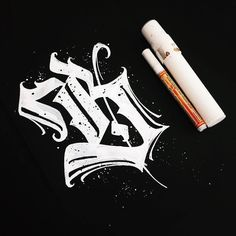 This is one bad ass 'B'. Type by @e_starov - #typegang - free fonts at typegang.com | typegang.com #typegang #typography