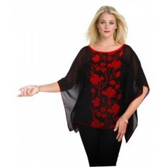 Fashion :: Women's Apparel :: Western Wear :: Tops :: Pona Saab Designer Tops - ShopClues.com: