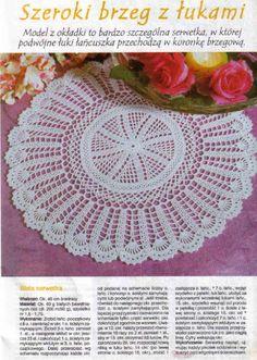Crochet Knitting Handicraft: VARIOUS DOILIES 2