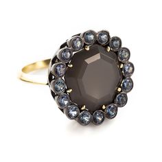 Sorellina Grey Moonstone Statement Ring | Greenwich Jewelers