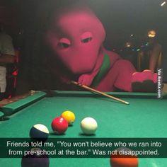 Barney, you got love him... - Ibeebz http://ibeebz.com