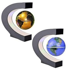 Exiquisite Antigravity Floating Magnetic Globe with LED Light Gift Decoration L4