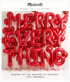 Madewell : Merry Christmas