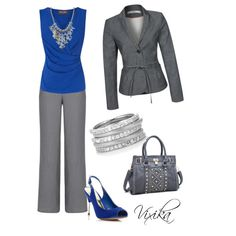 """All business"" by vixika on Polyvore"