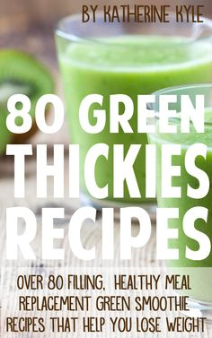 FREE e-course - Green Thickies: Filling Green Smoothie Recipes